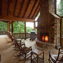 Photo Of Mountain Luxury Escape   Ellijay, GA, United States. Beautiful  Outside Deck