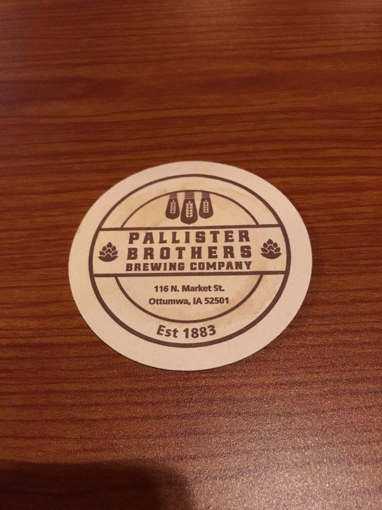 Pallister Brothers Brewing Company: 116 N Market St, Ottumwa, IA