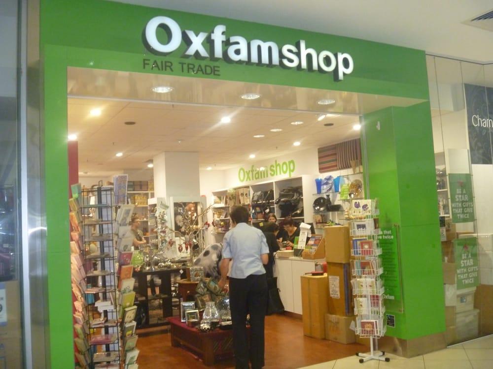 Oxfam shop geschenkartikel shop 230 myer centre queen for Geschenkartikel shop