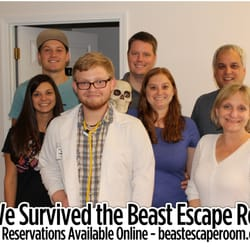 Beast Escape Room Glen Carbon