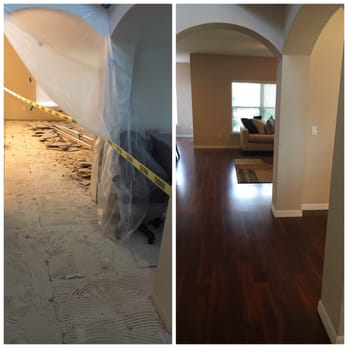 Photo Of All Flooring USA   Orlando, FL, United States. Before And After