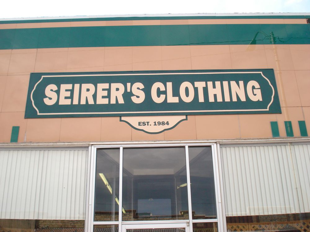 Seirer's Clothing: 143 W Lincoln Ave, Lincoln, KS