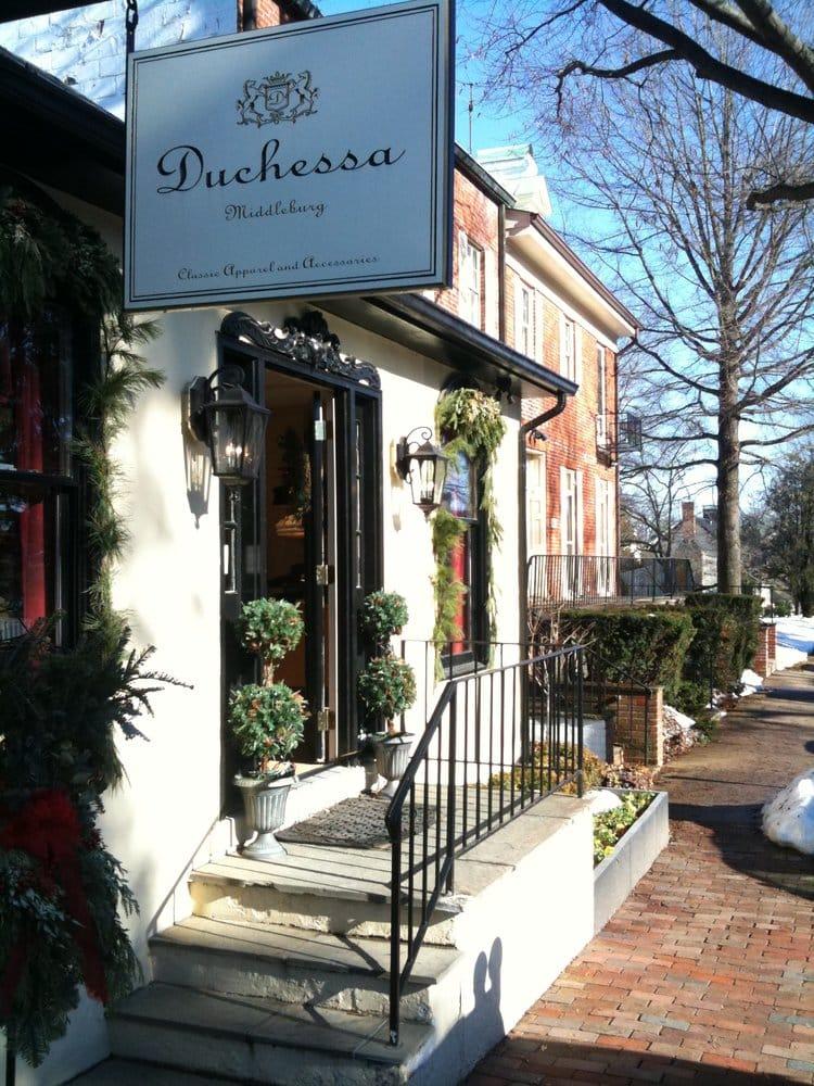 Duchessa: 100 E Washington St, Middleburg, VA