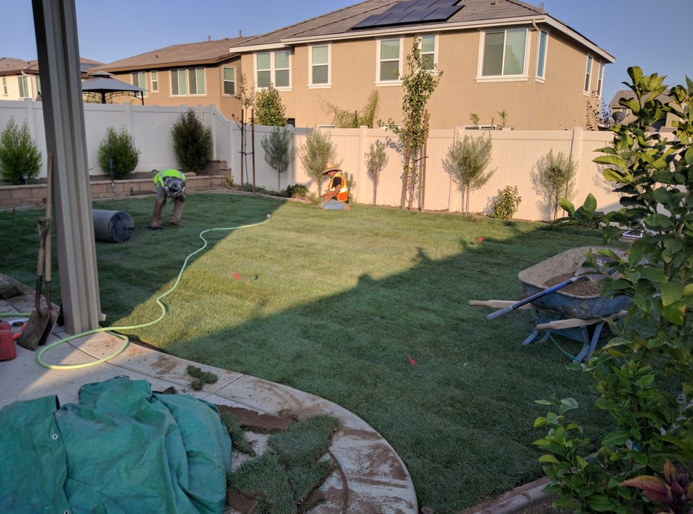 Murrieta job during yelp for Garden maintenance jobs