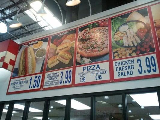 Tustin Costco Food Court
