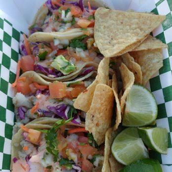 La Mex Taqueria Food Truck Menu