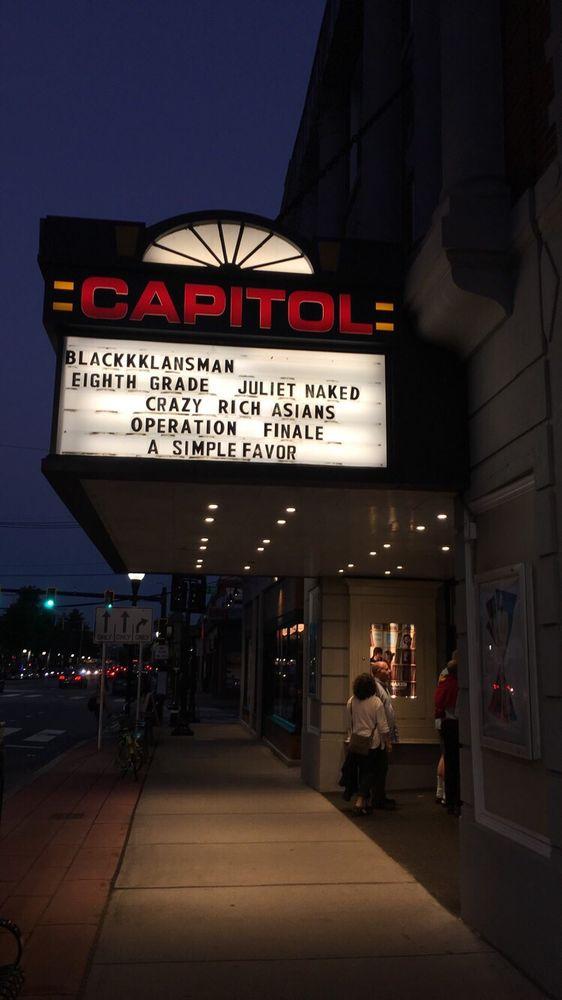 Capitol Theatre: 204 Massachusetts Ave, Arlington, MA
