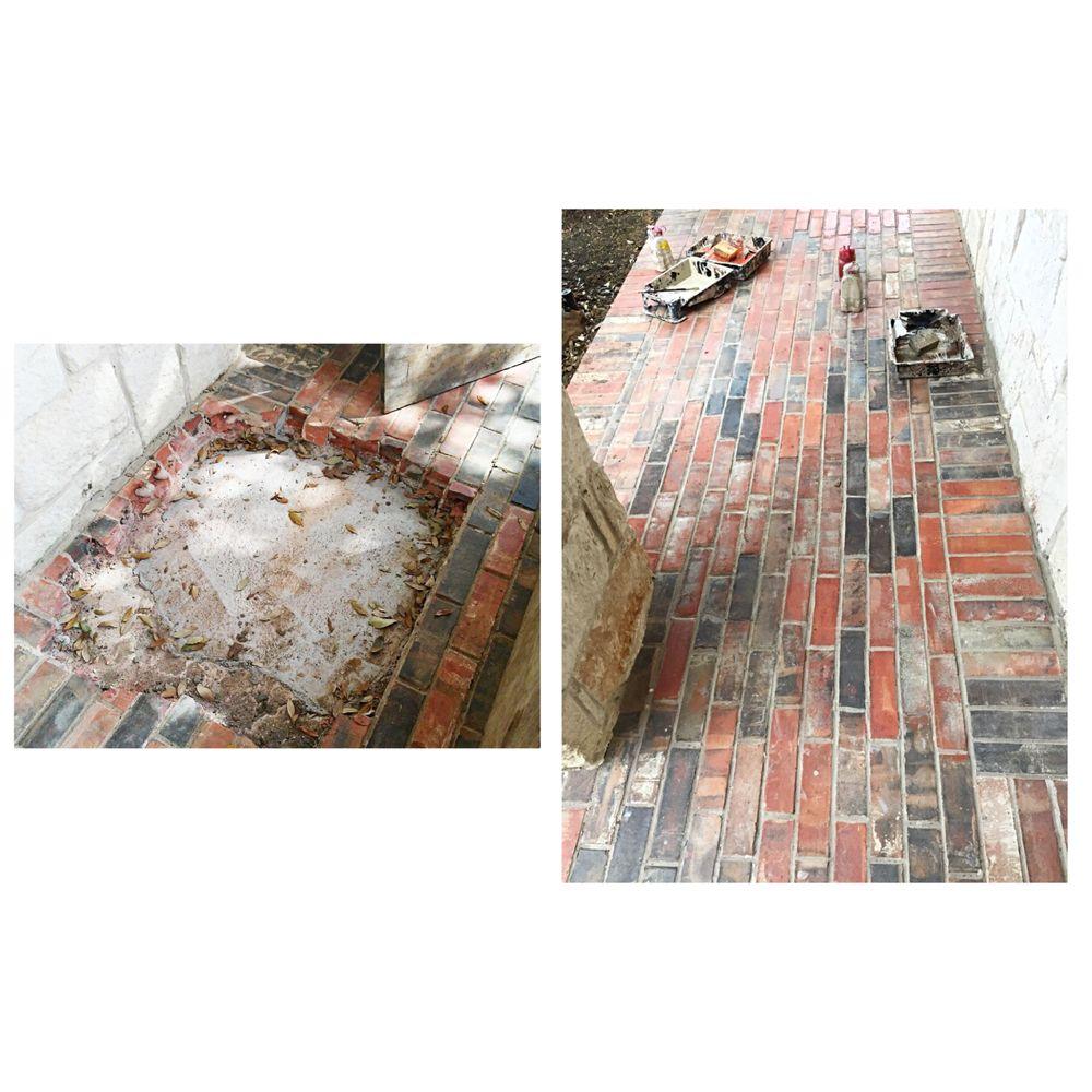 Photo of Artistic Masons - Carrollton TX United States. Brick Patio Repair u0026  sc 1 st  Yelp & Brick Patio Repair u0026 Color Restoration - Yelp