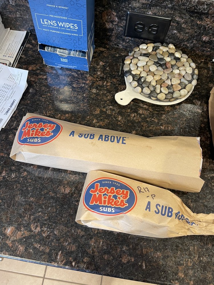 Jersey Mike's Subs: 395 Providence Hwy, Dedham, MA