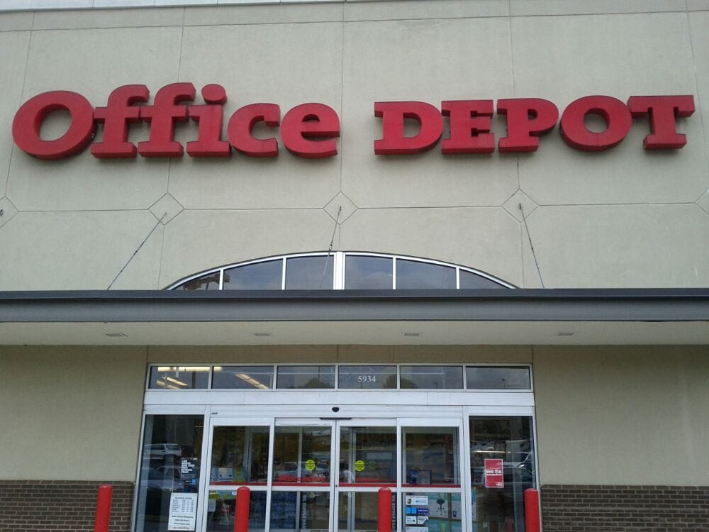 Office depot 13 reviews office equipment 5934 for Furniture 7 phone number