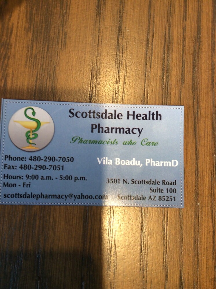 Business card of really great pharmacy that delivers goodbye photo of scottsdale health pharmacy scottsdale az united states business card of colourmoves
