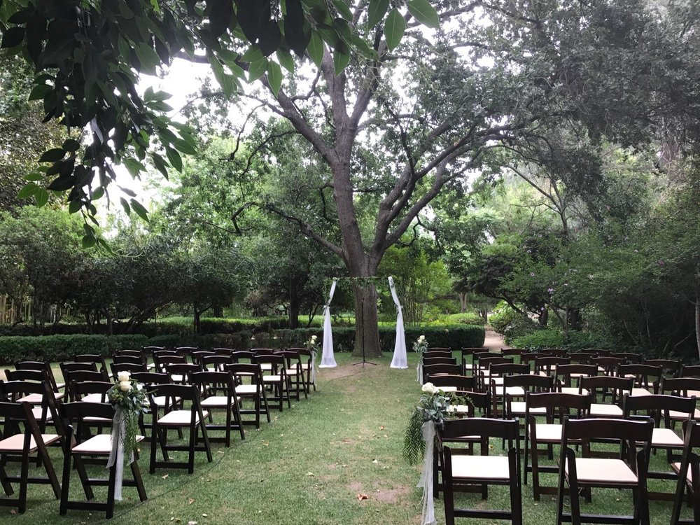 Orcutt Ranch Wedding.So Beautiful Ceremony At Orcutt Ranch The Setup Done By 3 Little