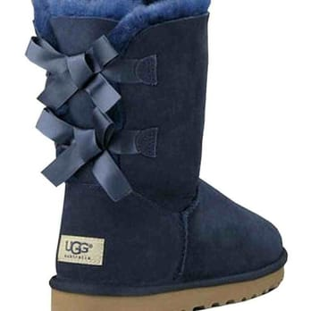 Photo of UGG Australia - Washington, DC, United States. UGG Bailey Bow Navy