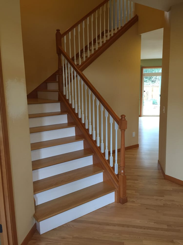 Exceptionnel Photo Of One Way Flooring   Everett, WA, United States. Oak Stairs With
