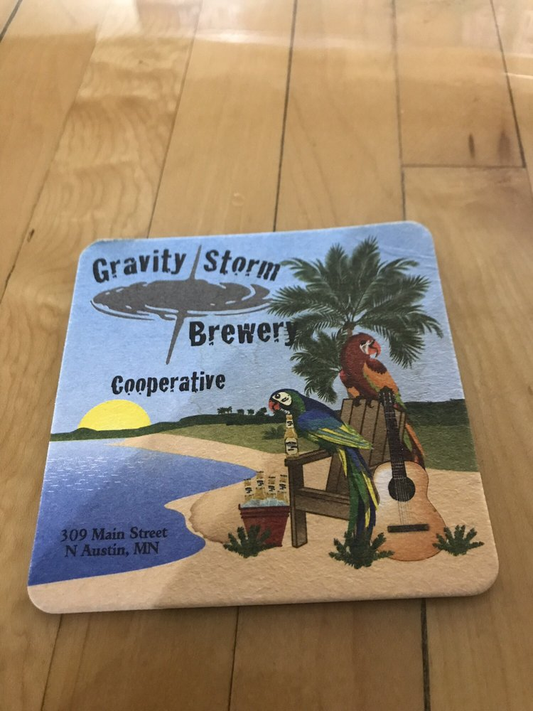 Gravity Storm Brewery Cooperative: 309 Main St N, Austin, MN