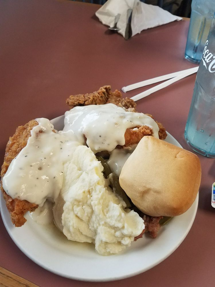 Food from Don's Family Style Buffet