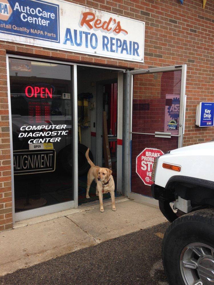 Red's Auto & Truck Repair: 22049 N Pepper Rd, Lake Barrington, IL