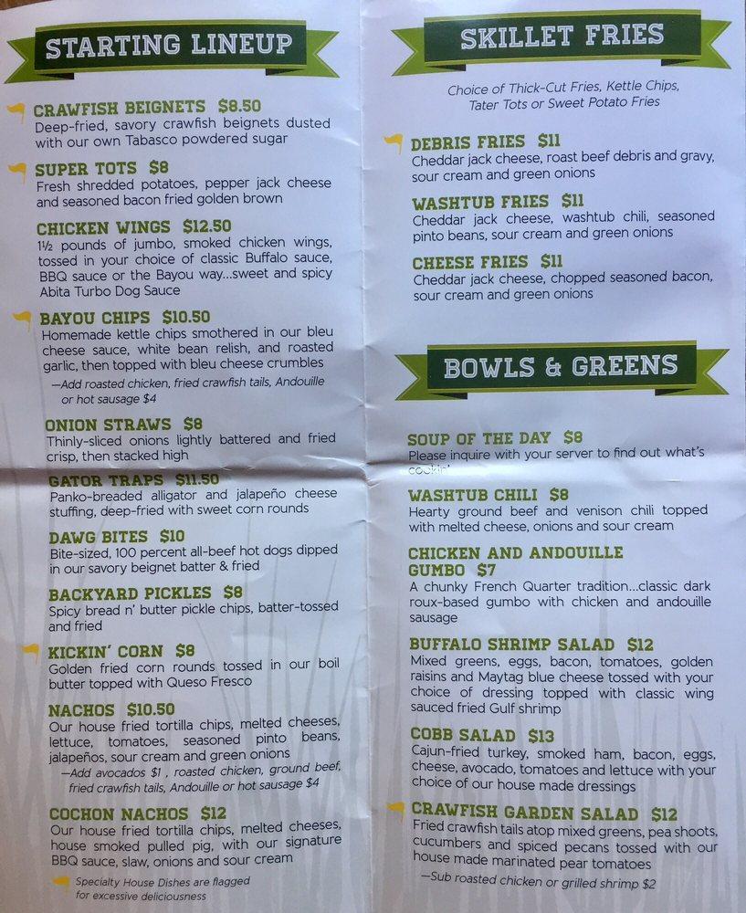 elusive app menu bayou doesn u0027t post prices online i suggest skip