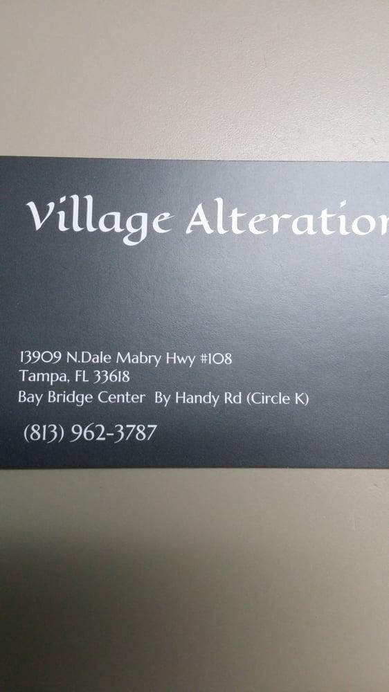 Village Alterations: 13909 N Dale Mabry Hwy, Tampa, FL