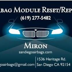 San Diego Airbags Airbag Module Reset/Repair - CLOSED - 14