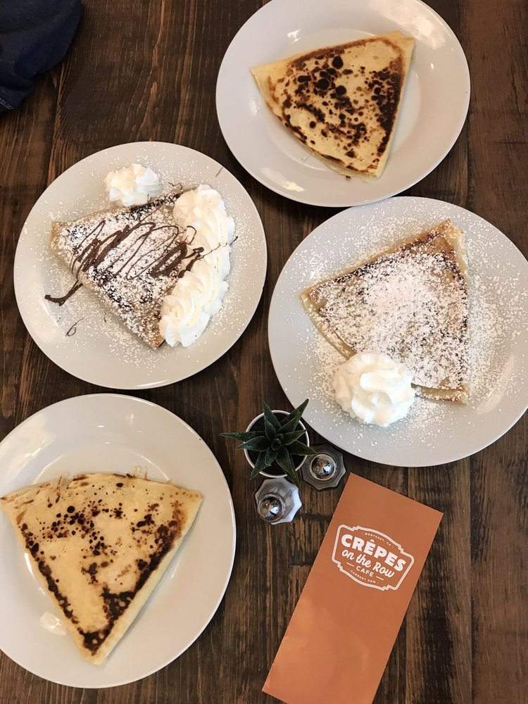 Crepes on the Row Cafe
