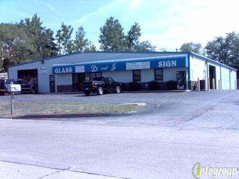 D & J Glass & Sign: 1921 Meyer Drury Dr, Arnold, MO