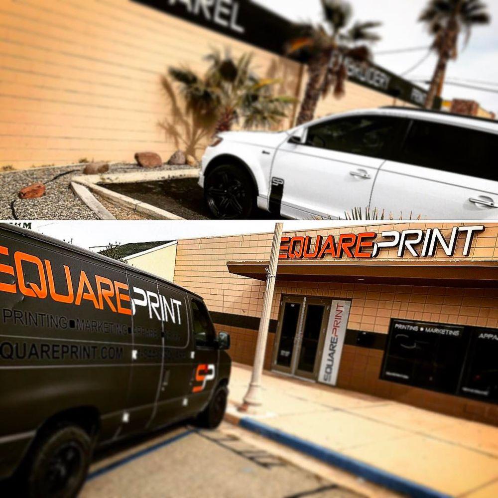 SquarePrint: 138 N Balsam St, Ridgecrest, CA