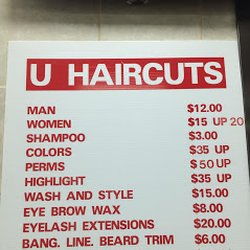 U Haircuts Hair Salons 544 University Ave W Midway Saint Paul
