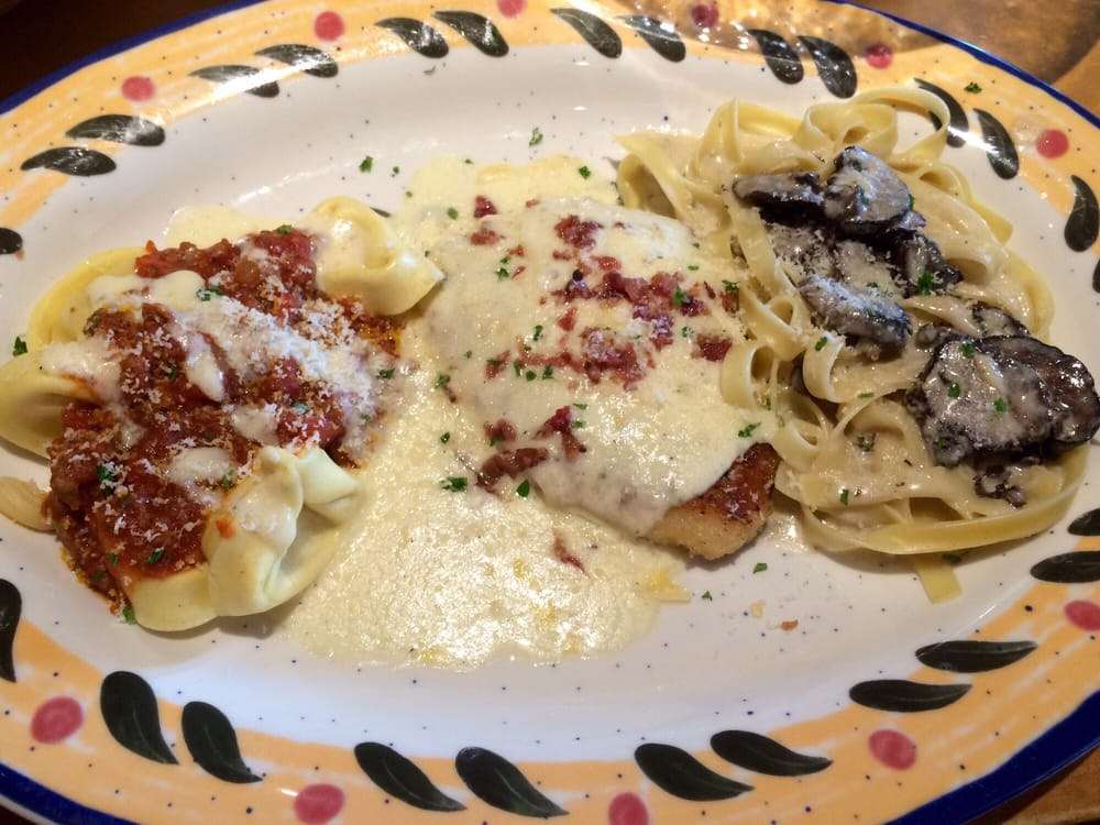 Northern Tour Of Italy Cheese Tortellini Chicken Lombardy And