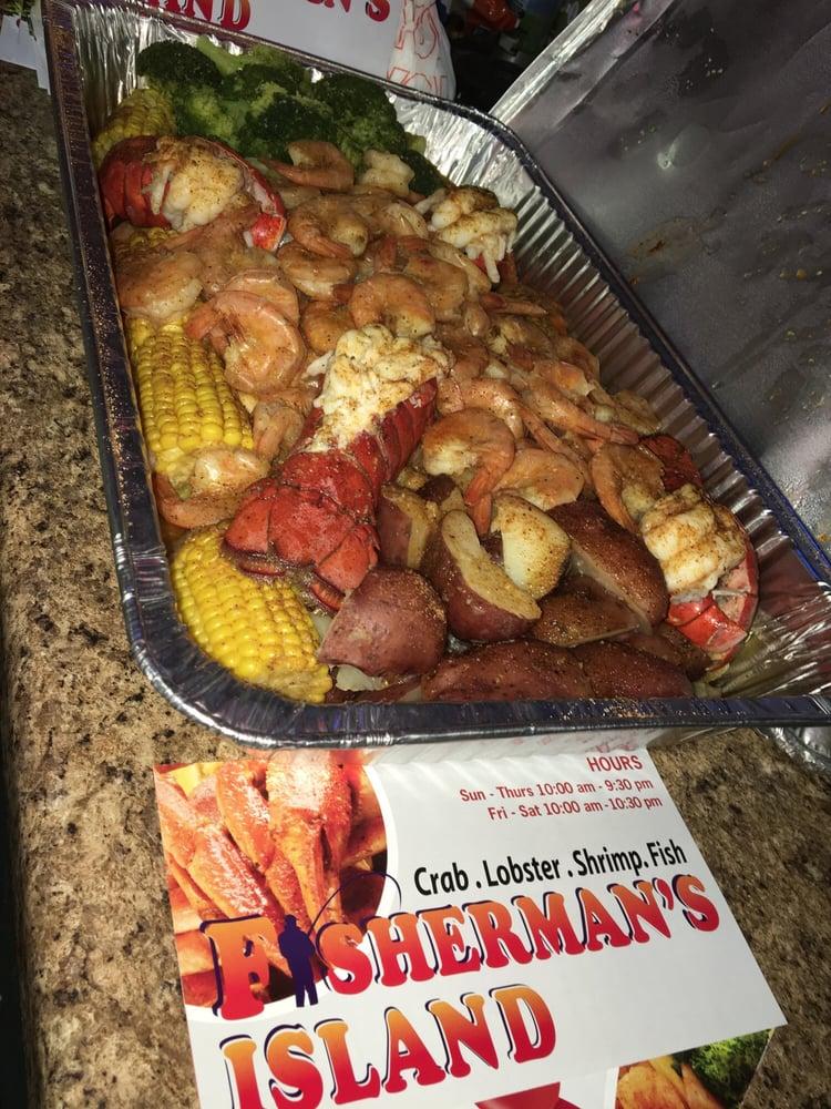 Crab Island Seafood Restaurant Menu