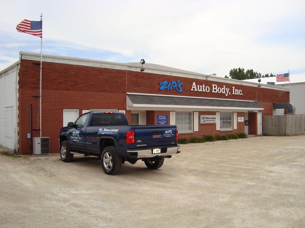 Zip's Auto Body: 1033 S 7th St, Rochelle, IL
