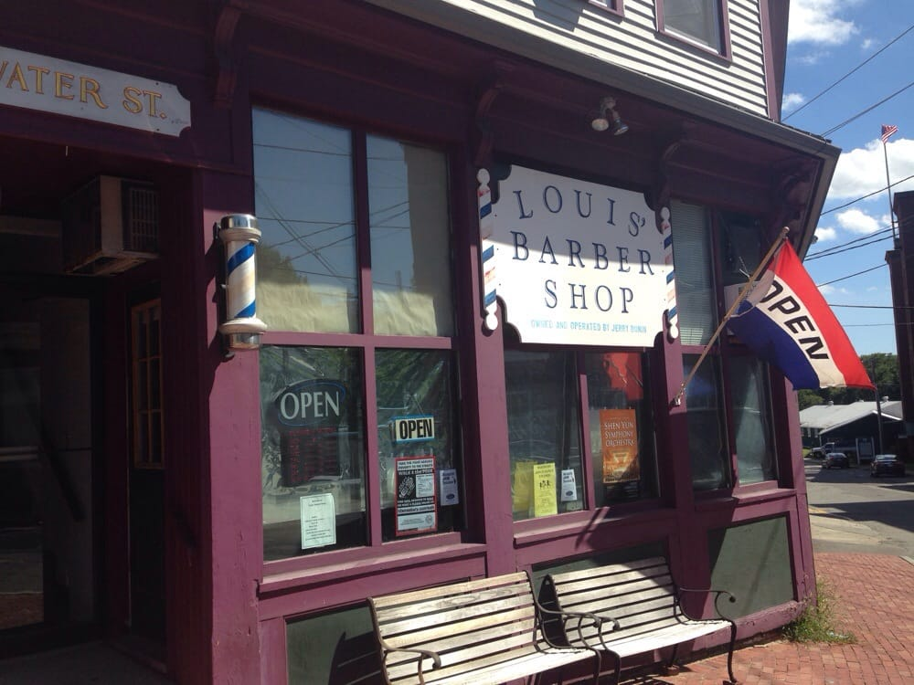 Louis' Barber Shop: 4 Water St, Amesbury, MA