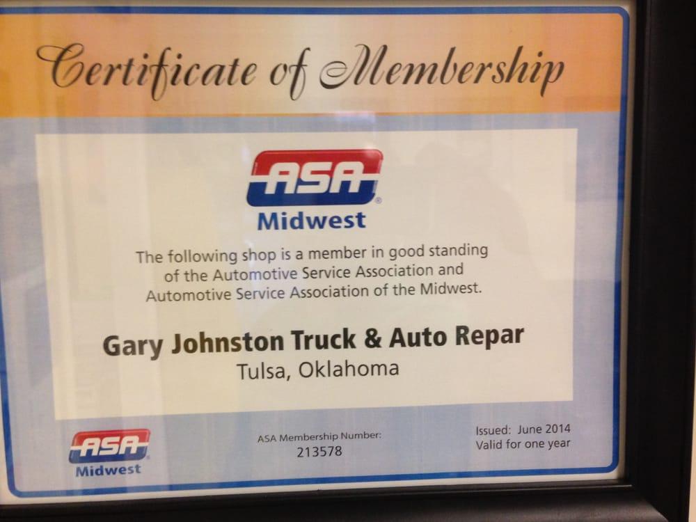Gary Johnston Truck & Auto Repair - Tulsa Metro Auto Centers
