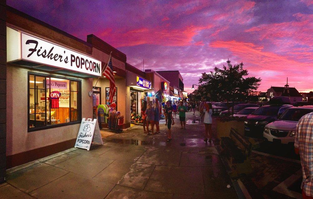 Fisher's Popcorn: 108 Garfield Pkwy, Bethany Beach, DE