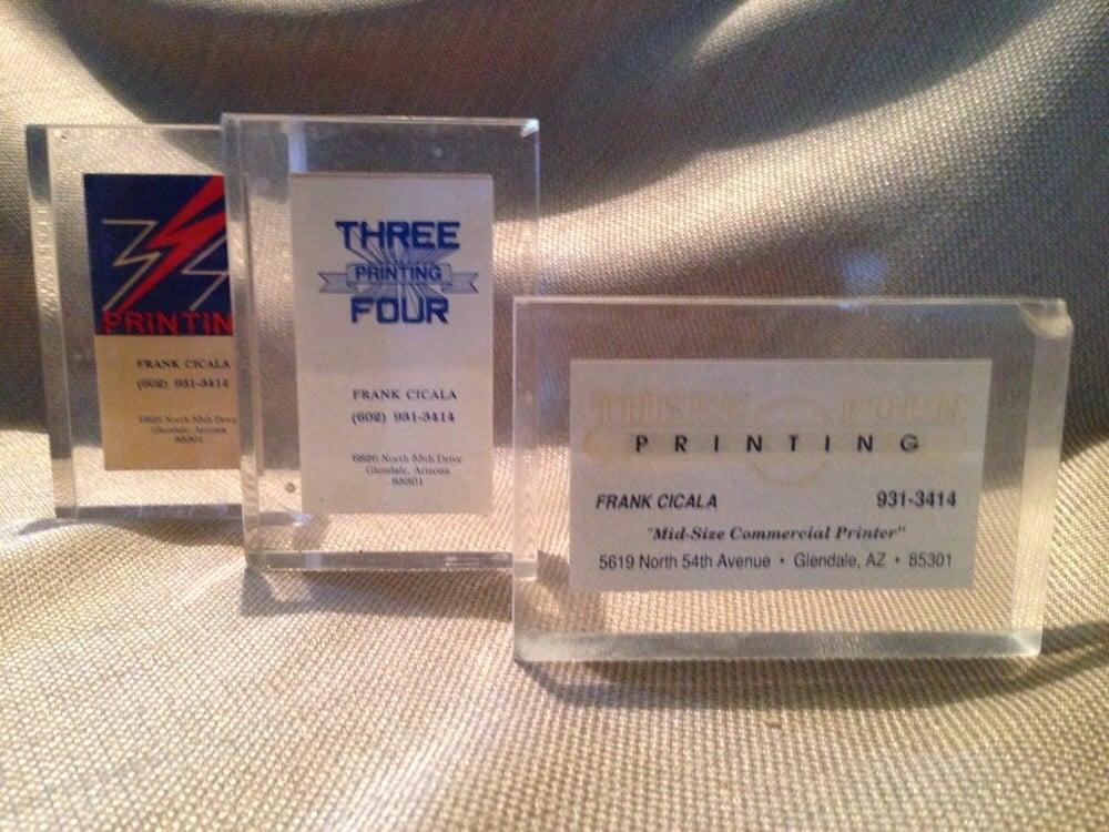 Three Four Printing