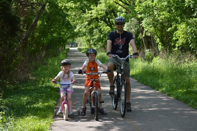 Loveland Bike Trail: 206 Railroad Ave, Loveland, OH