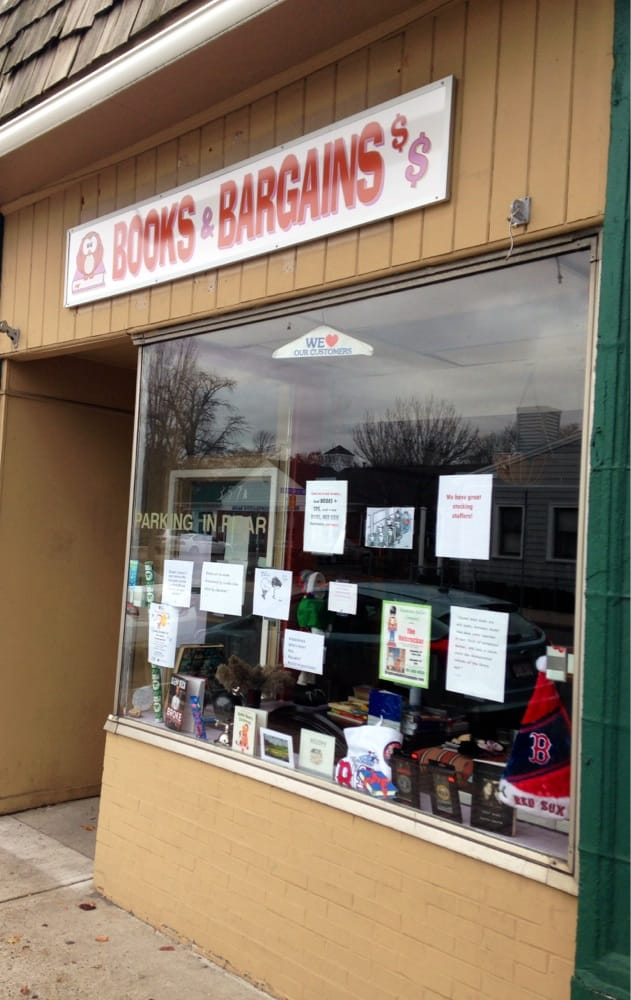 Books & Bargains: 357 Washington St, Braintree, MA