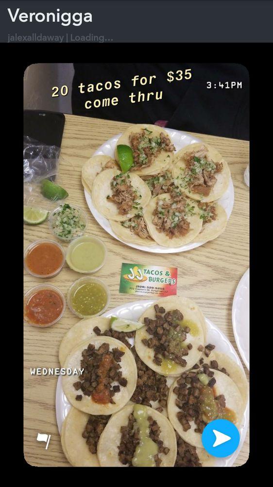 JJ Tacos & Burgers: 702 Eastern St, Kingman, AZ