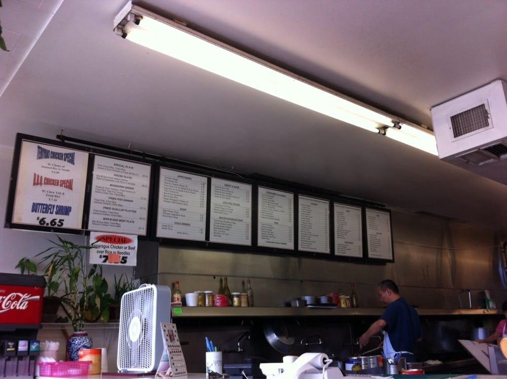 Their menu is Huge. Price range from 6.50 a meal - Yelp