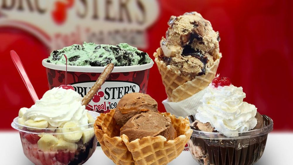 Bruster's Real Ice Cream: 1204 Mathis Rd, Greenwood, SC