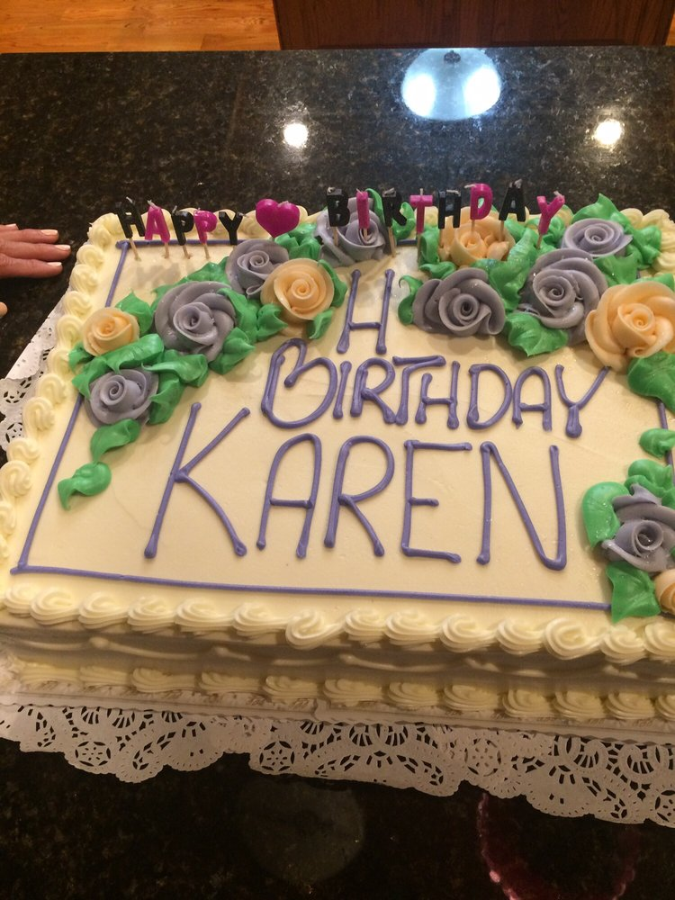 How On Earth Cant You Fit Happy Birthday Karen On A Half A Sheet