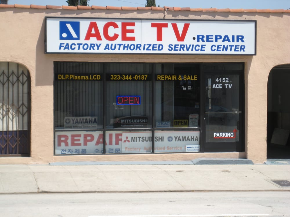 ace repair Ace repair 29 likes ace specializes in the repair of: flat screen tvs, lcd, plasma and led, iphone, ipad, ipod, dvd, cd, vcr, playstation, stereo and.