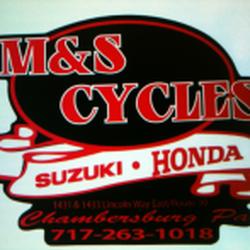 M & S Cycles - Motorcycle Dealers - 1431 Lincoln Way E, Chambersburg