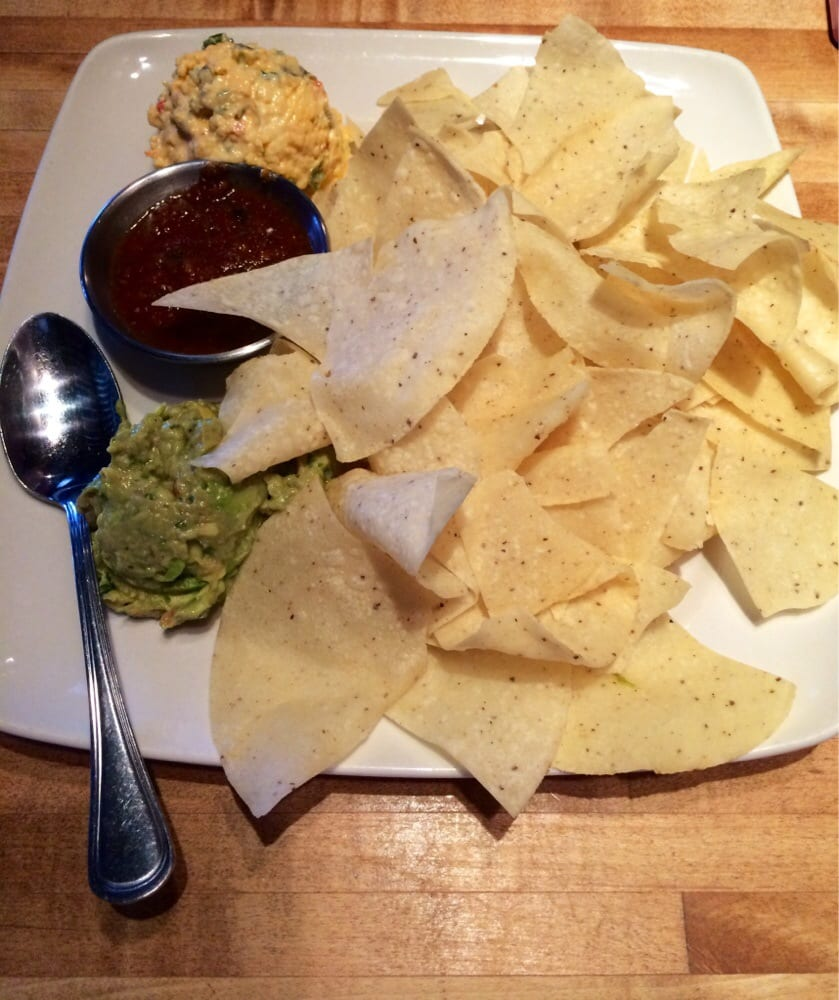 Double dip w/ guacamole, salsa and cheese - Yelp