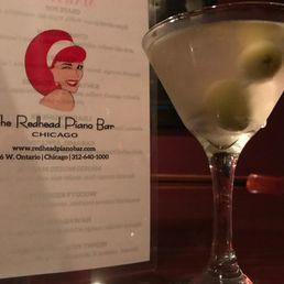 Redhead martini bar