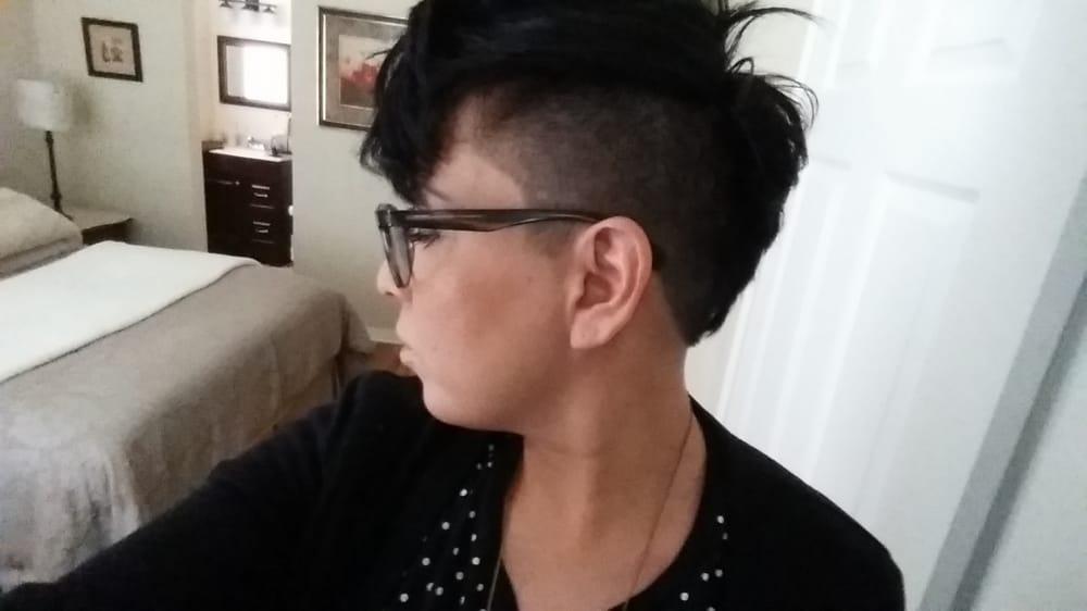 5 Inch On Sides And Texture Haircut On Top Yelp