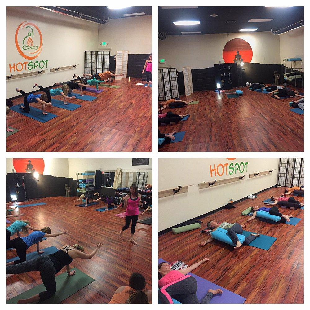 The HotSpot Yoga Studio