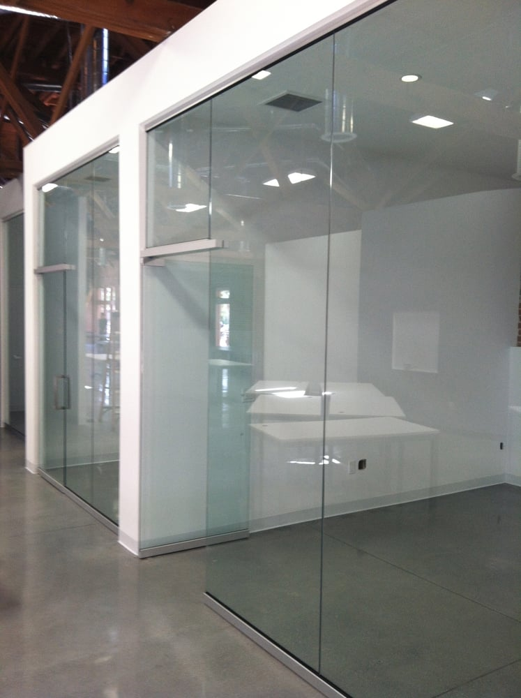 All Glass Office Partitions And Doors Yelp