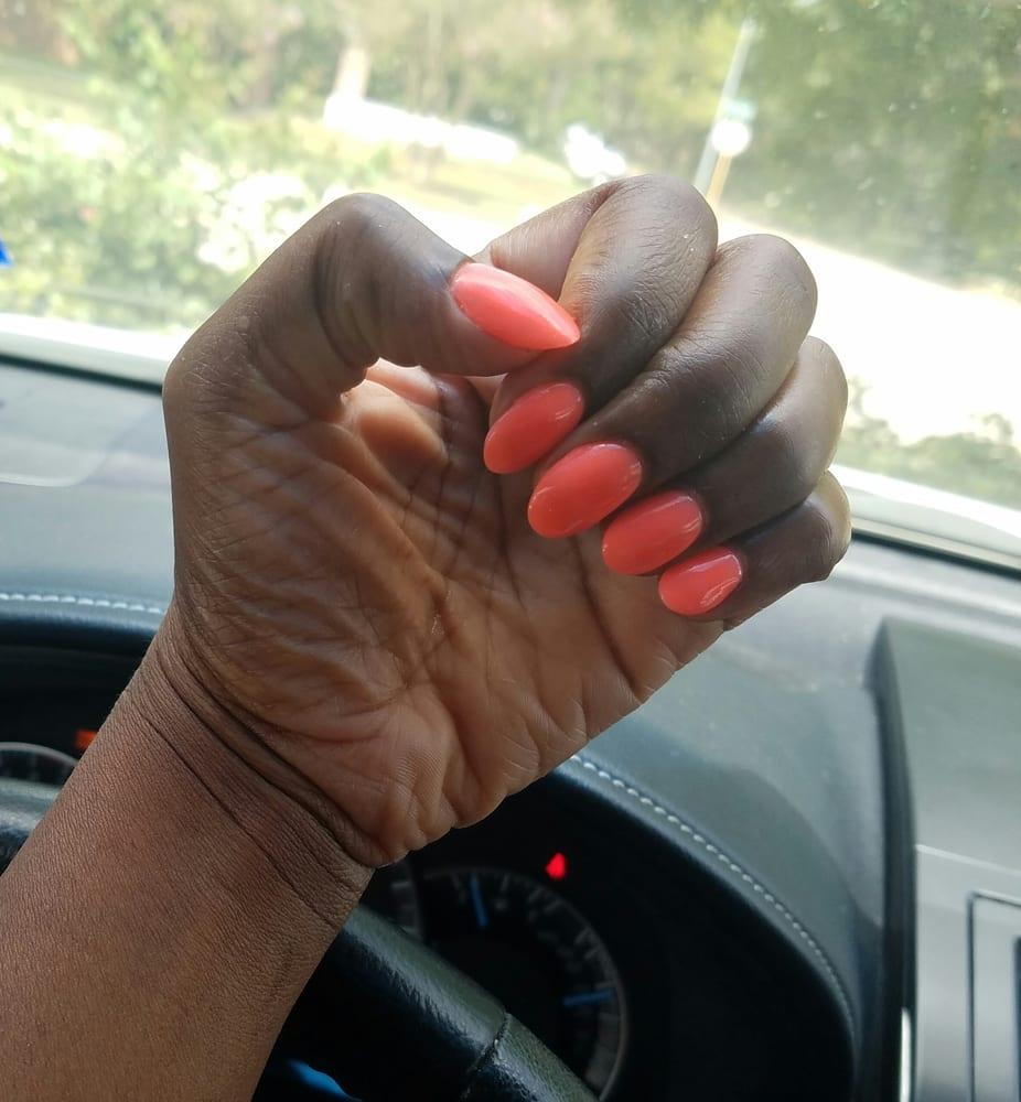 Nail Salon Katy: Coral Dip Powder By Christina...loving It