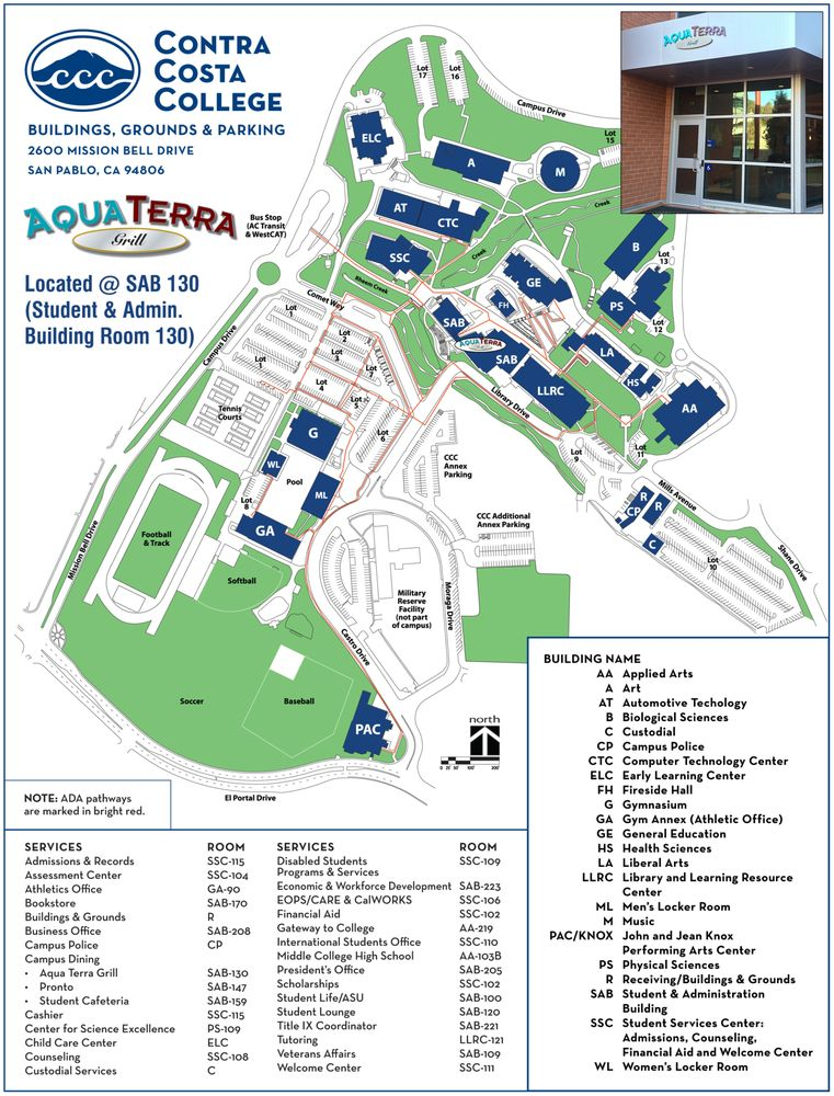 Lmc Pittsburg Campus Map.Map Of Contra Costa College Sham Store